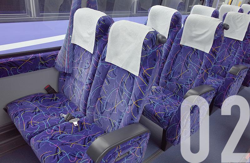 利木津巴士-車內環境(關西機場巴士)